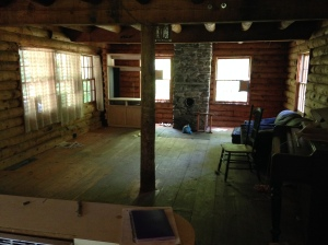 Living/Dining area, back end of great room.