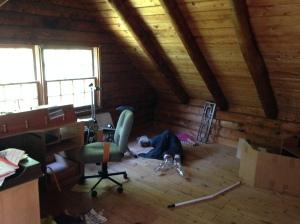 Small upstairs bedroom, Little girl's future bedroom.