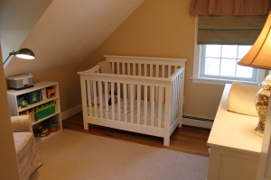 Upstairs nursery after.
